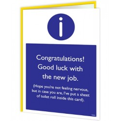 Warning Cards - New Job...