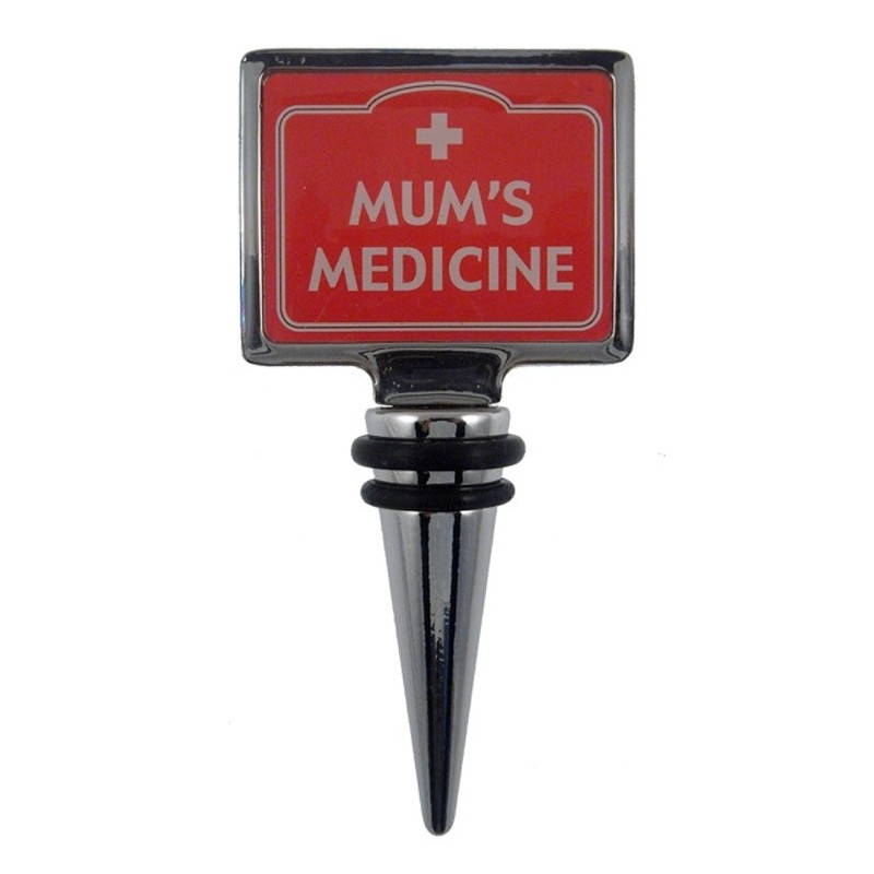 Bottle Stopper - Mum's Medicine