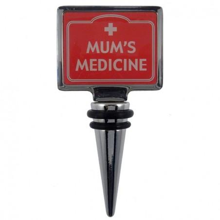 Bottle Stopper - Mum's Medicine