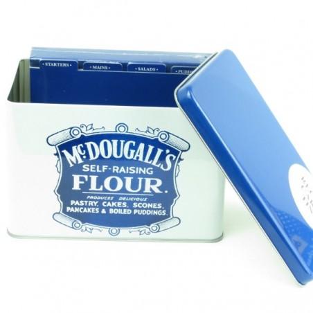 McDougall's Self Raising Flour Recipe Card Tin