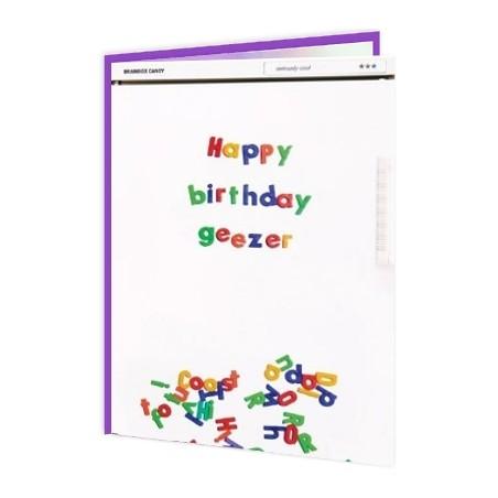 Cheeky Titles - Happy Birthday Geezer