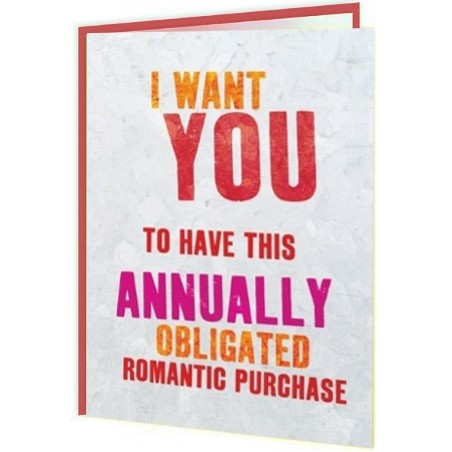 Word Up! - Annually Obligated Romantic Purchase