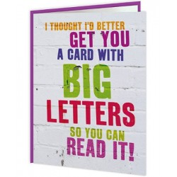 Word Up! - A Card With Big...