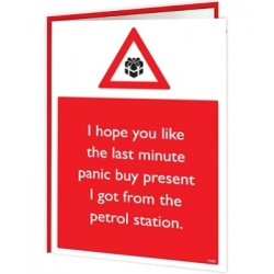 Christmas Warning - Panic...