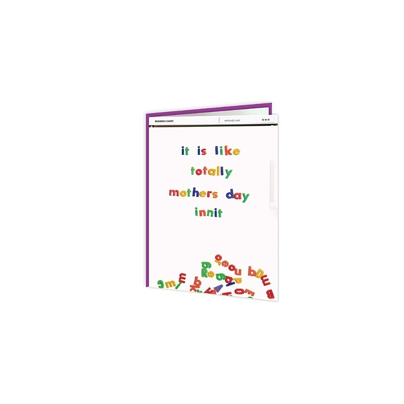 Cheeky Titles - It Is Like Totally Mothers Day Innit