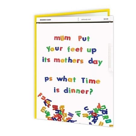 Cheeky Titles - Mum, Put Your Feet Up