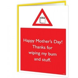 Warning Cards - Thanks For...