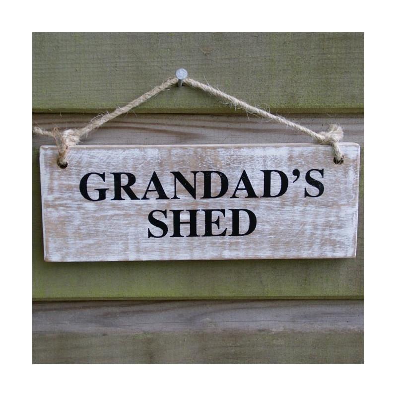 Garden Sign - Grandad's Shed