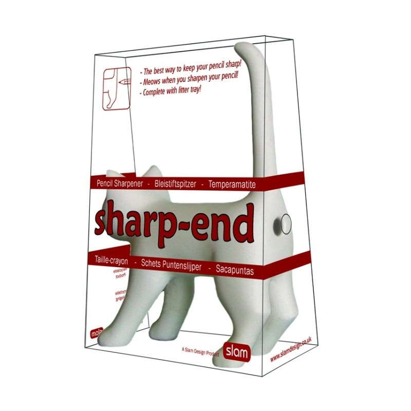 Sharp-end Cat Pencil Sharpener