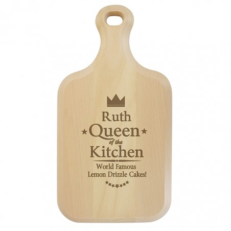 Personalised - Queen Chopping Board/P011436