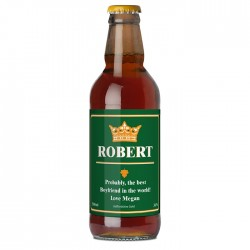 Personalised - Gold Crown Beer