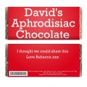 Personalised - Aphrodisiac Chocolate Bar