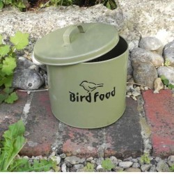 Bird Food Storage Tin