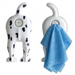 Dog End - Tea Towel Holder