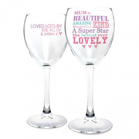 Personalised - She Is ... Wine Glass
