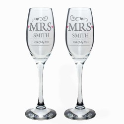 Personalised - Mrs & Mrs...