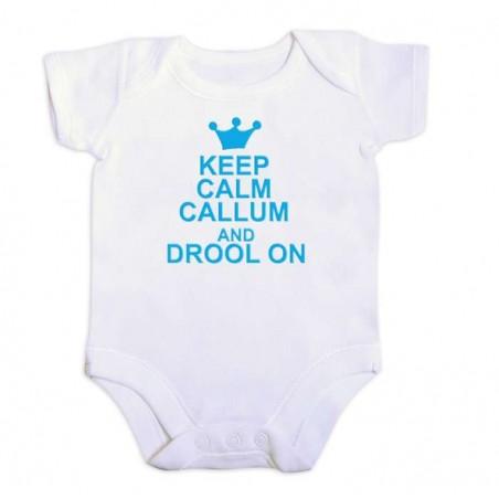 Personalised - Blue Print Keep Calm Vest