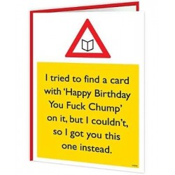 Warning Cards - Happy...