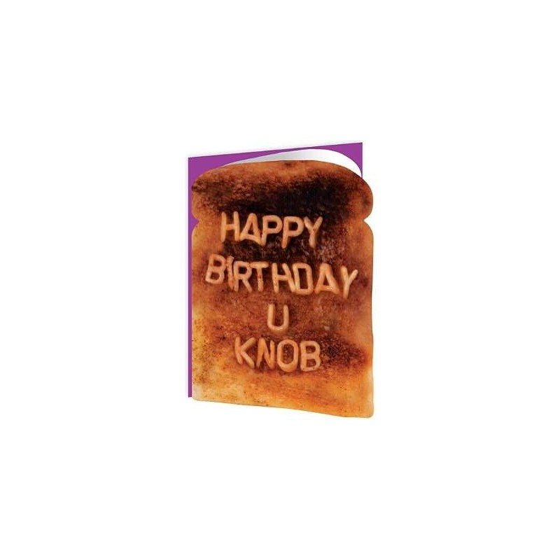 Toasted - Happy Birthday U Knob