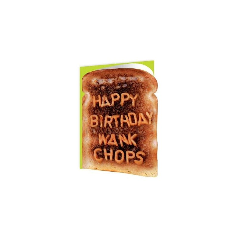 Toasted - Happy Birthday Wank Chops