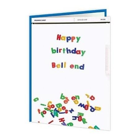Cheeky Titles - Happy Birthday Bellend