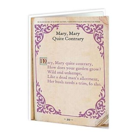 Naughty Nursery Rhymes - Mary, Mary Quite Contrary