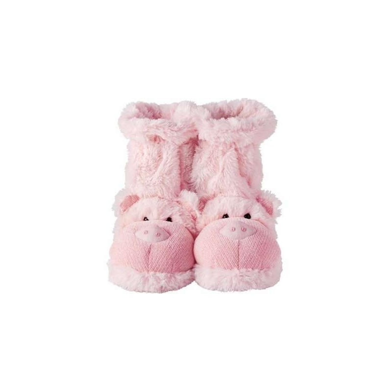 Fun For Feet Slippers (Pig)