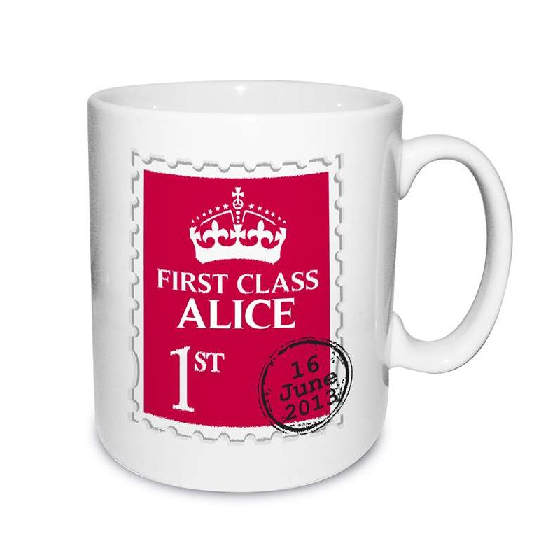 Personalised - 1st Class Mug