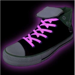 Glow Shoelaces (Pink)