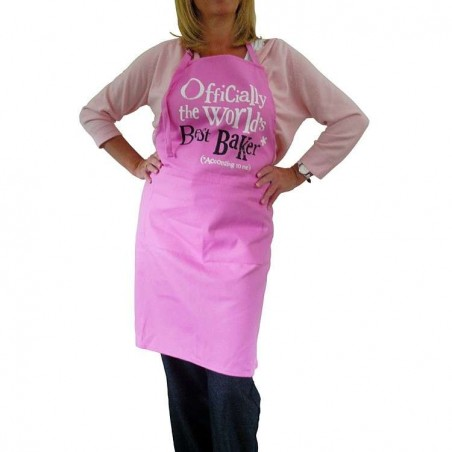 Officially the Worlds Best Baker - Apron