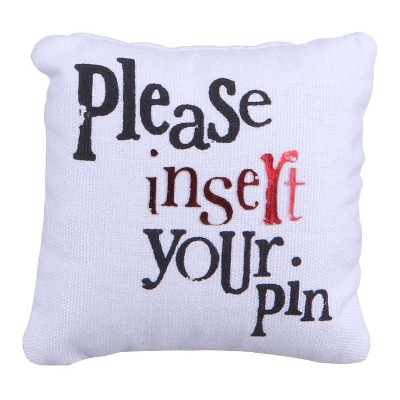 Pin Cushion and Tin