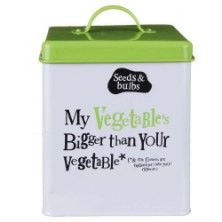 Seed Tin - My Vegetables