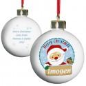 Personalised - Santa Bauble