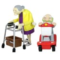 Racing Granny And Grandad Set