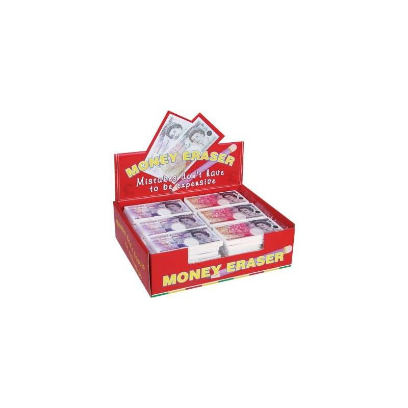 Money Erasers Set