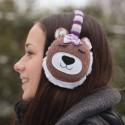 Cozy Ear Muffs - Bear