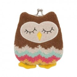 Knitted Owl Purse