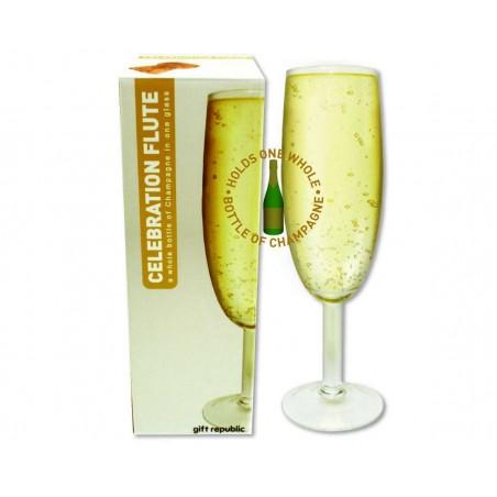 Bottle Of Champagne Flute