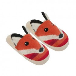 Knitted Fox Slippers