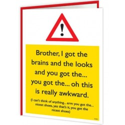 Warning Cards - Brother, I...