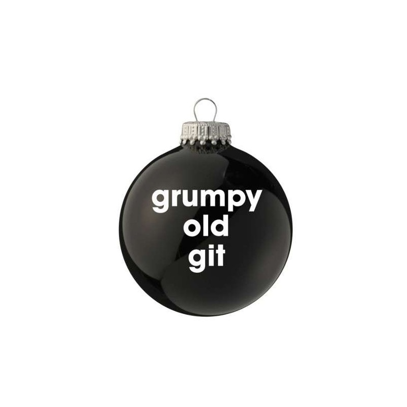 Cheeky Santa Baubles - Grumpy Old Git