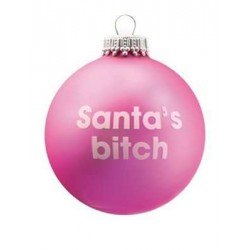 Cheeky Santa Baubles -...