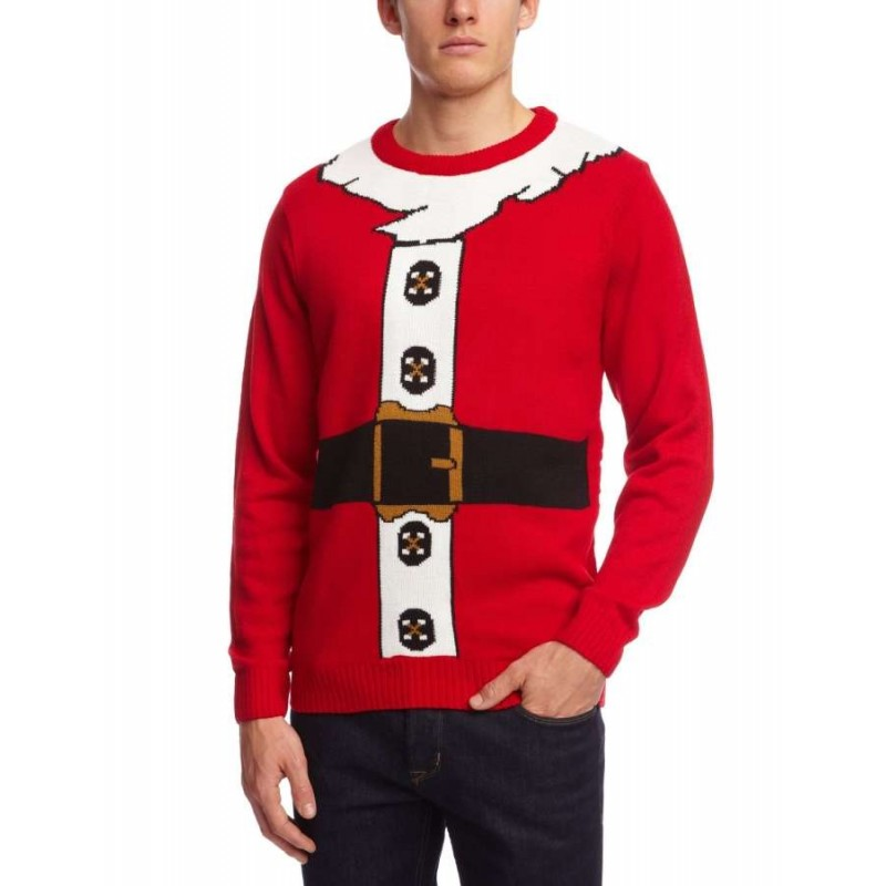 Christmas Jumper - Santa's Suit