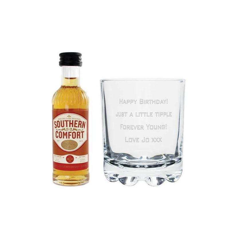 Personalised - Southern Comfort Miniature Set