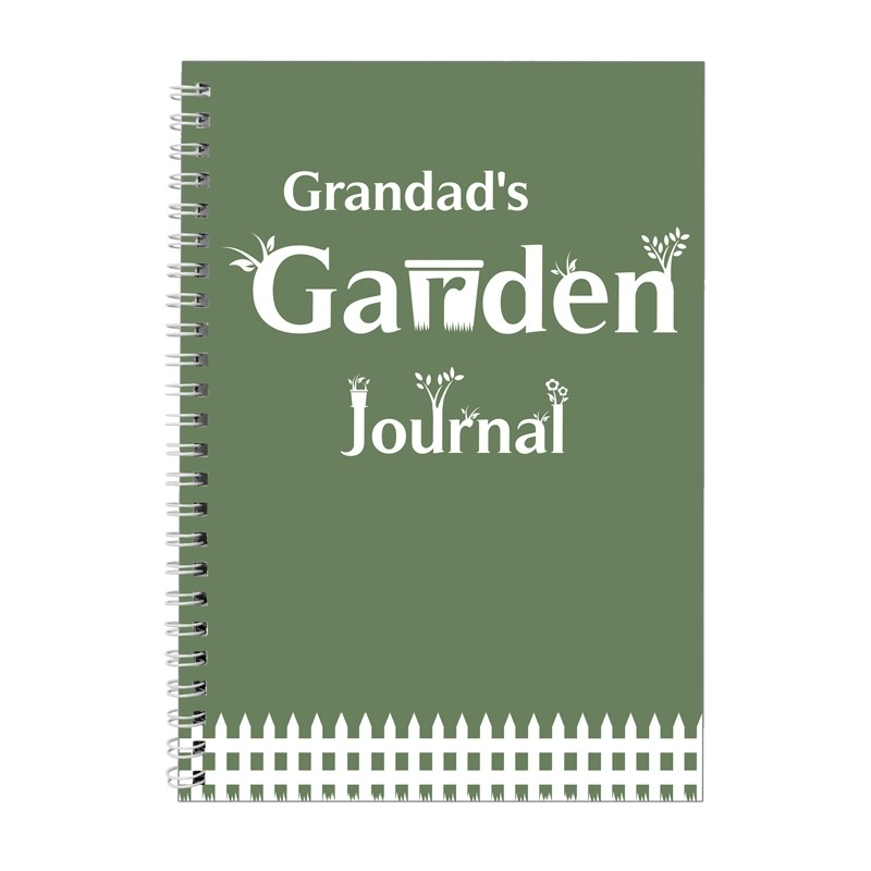 Personalised - Garden Journal