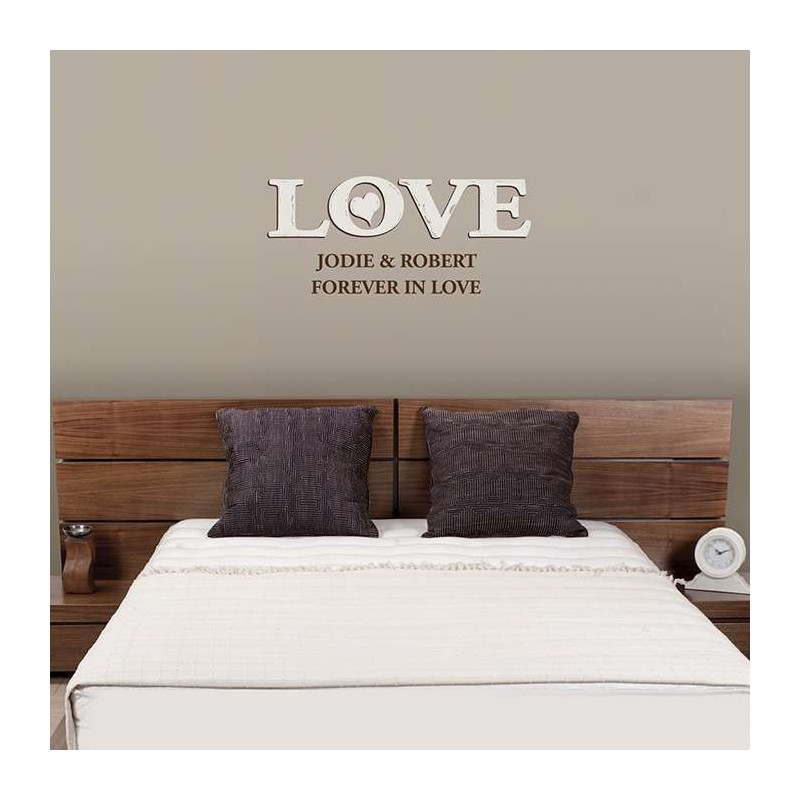 Personalised - Love Wall Art