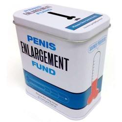 Penis Enlargement Fund Tin