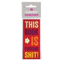 Magnetic Bookmark - This...