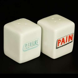 Tasteless Salt And Pepper Pots