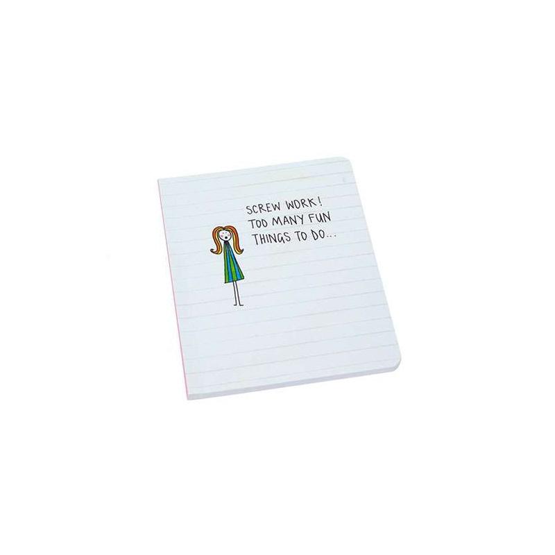 Notebook - Screw Work
